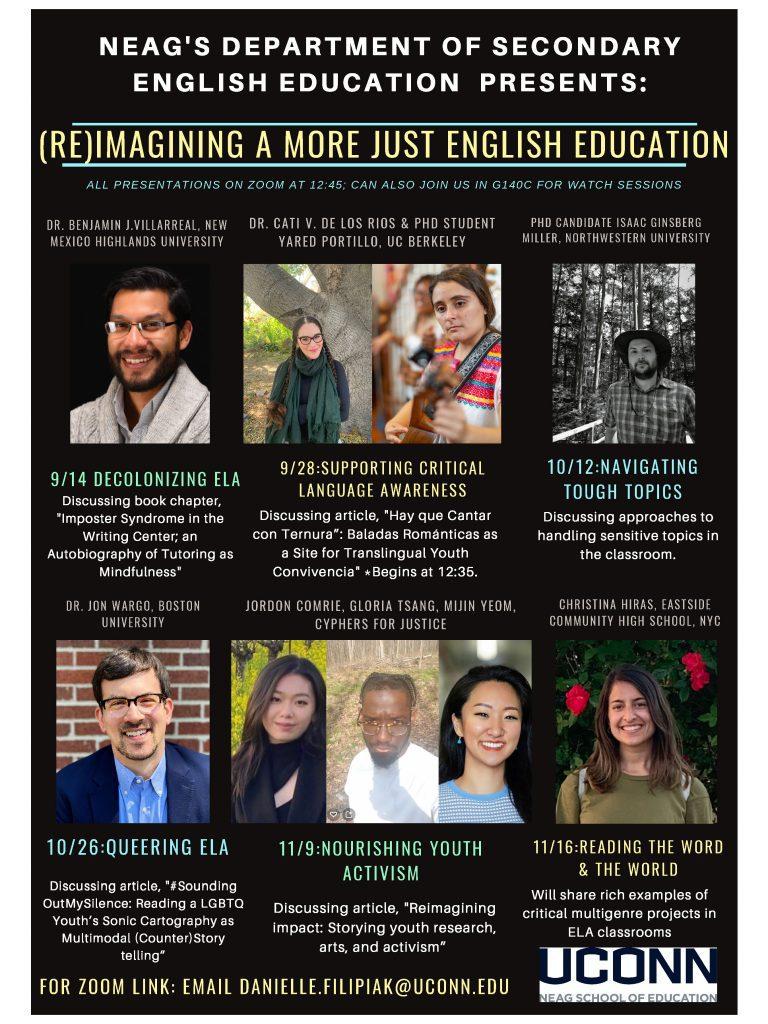 English Education Fall Speaker Series